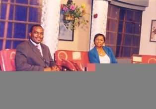 Olayinka Abiodun on a live discussion TV programme on I.T empowerment with Nonye Osi (MITV) 24/1/2005